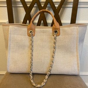 Coco tote bag with removable shoulder straps